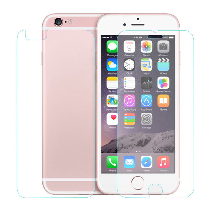 ENKAY Front + Back Tempered Glass Film for IPHONE 6 / 6S - Transparent