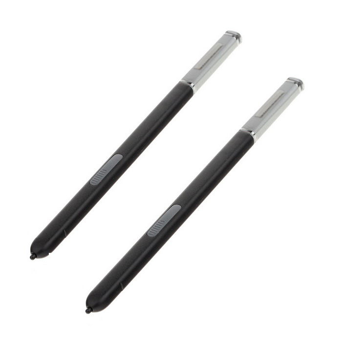 Capacitive Screen Touch Pen Stylus for Samsung Note 3 - Black (2PCS)