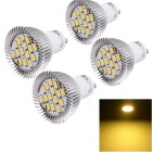 youoklight GU10 7.5W LED пятно лампочки теплый белый 15-SMD (4шт)