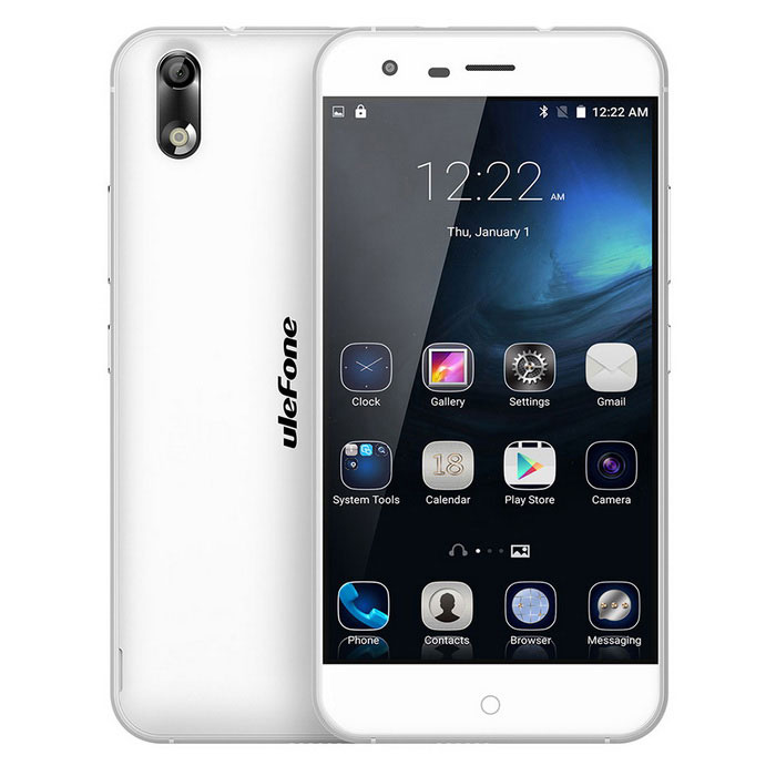 Ulefone Paris White Octa-Core Android 5.1 4G Phone w/ 5.0
