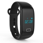 WK001 Bluetooth 4.0 Wristband Smart Bracelet w/ Pedometer / Heart Rate Monitor / Calories Function