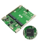 "CY SA-194 2.5"" Dual Mini PCI-E mSATA SSD RAID Adapter to SATA 22pin & USB 3.1 Hardware Raid Card"