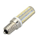 E14 6W 3500K Warm White Light 72-SMD LED Silicone Seal Bulb (220-240V)