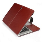 "ASLING Protective PU Leather for Apple MacBook Air 13.3"" - Brown"
