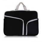 "ASLING bolsa de bolso bolsa zip para MACBOOK AIR 11.6"" - preto"