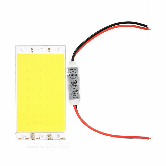 94*50mm 10W Highlight COB LED Module White Light + Light Controller