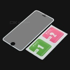 S-What 9H Tempered Glass Film for IPHONE 6 / 6S - White + Transparent