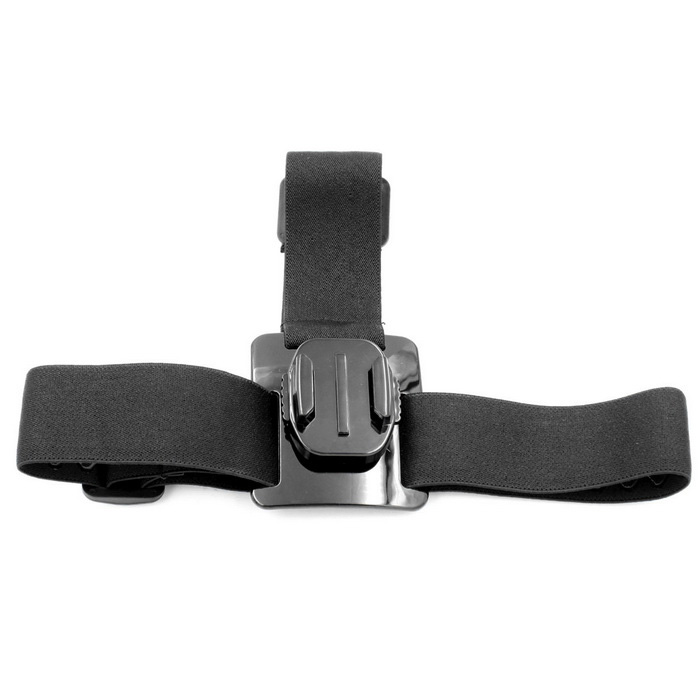 PANNOVO Support de sangle de rotation à 360 ° pour gopro 3/3 + / 4 - noir