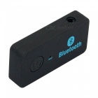 AD20-BT Car Bluetooth Music Receiver w/ Hand-Free for Phone - Black