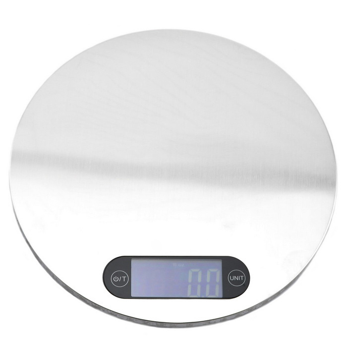 "Jtron 5kg*1g Electronic Touch Scale w/ 1.8"" Screen for Kitchen"