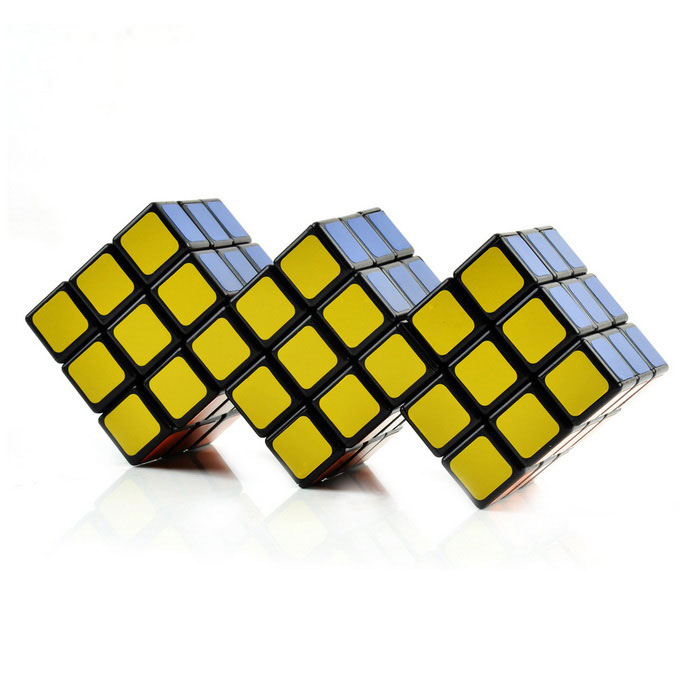 3*3 Siamese Magic Cube Toy - Yellow (Skill Level 3)