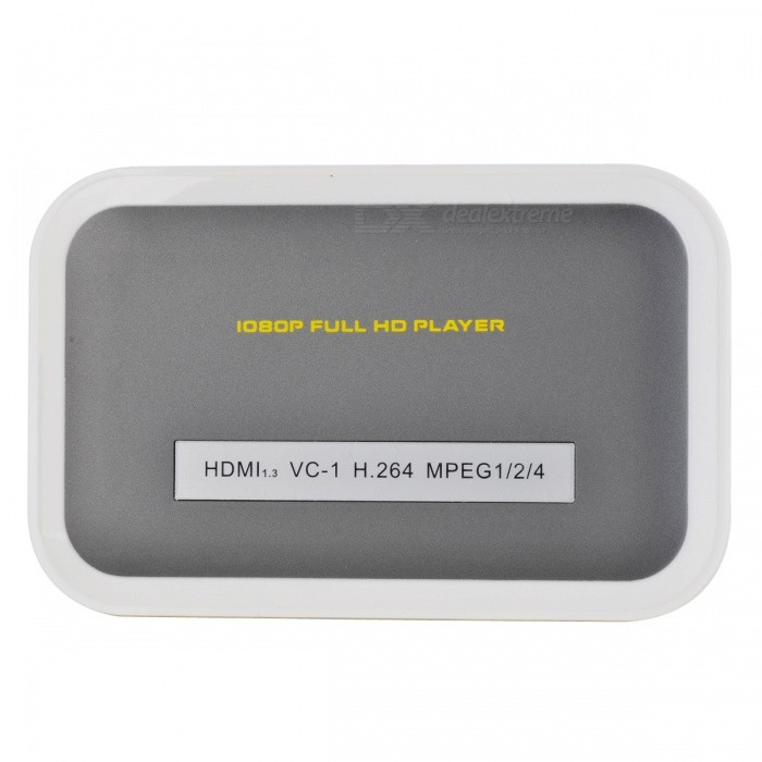 UMini 1080P Media Player with SD/USB Host/HDMI/AV/Coaxial SPDIF