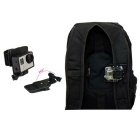 7-in-1 Accessories Kit for GoPro Hero 4 Session, 4 3+ 3 2 1 - Black