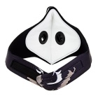Outdoor Multifunctional Activated Carbon Cycling Mask - Black + White