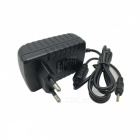 12V 2A Universal Power Adapter Charger - Black (AC 100~240V / EU Plug / 2.5 x 0.7mm)