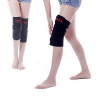 5V USB Heating Kneejoint Care Warm Kneepad - Black