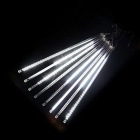 JIAWEN Waterproof 20cm 8-Tube 96-LED White Meteor Light Tube Light