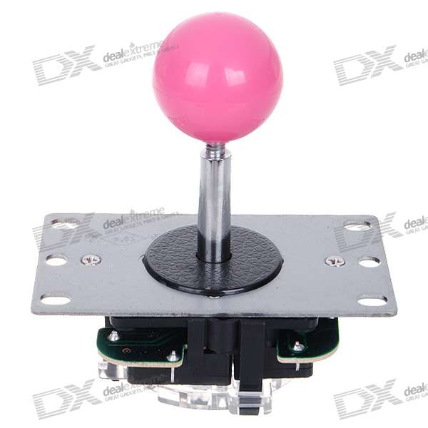 Repair Parts Replacement Ball Arcade Joystick with Steel Base (Color Assorted) gaming arcade console usb joystick arcade buttons kit double joystick console with flash light support hdmi vga