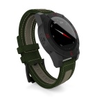 N10 MTK2501 IP67 Bluetooth 4.0 Smart Watch w/ Compass Barometer for Outdoor Sports - Gren + Black