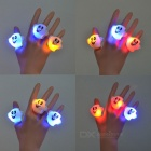 Ghost Style 3-LED Lighting Rings - White (3PCS)