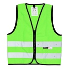 Salzmann Multifunction Outdoor Waterproof Cycling Reflective Polyester Vest - Green (S)
