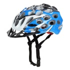 CTSmart Cycling Riding Honeycomb Design PC + EPS Bike Safety Helmet - Black + Blue