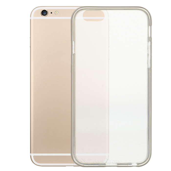 S-What TPU + Aluminum Alloy Back Case for IPHONE 6 / 6S - Champagne