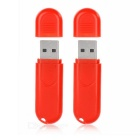 USB-Mini-Type 1,5 W 3-LED Red Light Nachttischlampe - Red (2 PCS)