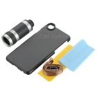 8X Telescope Lens w/ Back Case for IPHONE 6 / 6S - Black