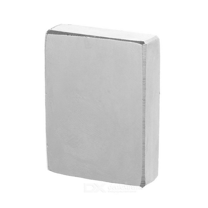 F40 * 30 * 10mm rectangulaire forte ndfeb aimant - argent