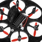 "UDI U945A 2.4GHz 4-CH r / c hexrcopter w / 1.2"" lcd, girocompás - negro"