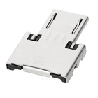 Universal USB Female to Micro USB Male OTG Adapter - Silver