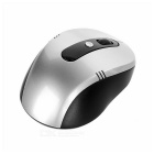 MAIKOU 2.4GHz Wireless Mouse w/ USB 2.0 - Silver Grey + Black (2*AAA)