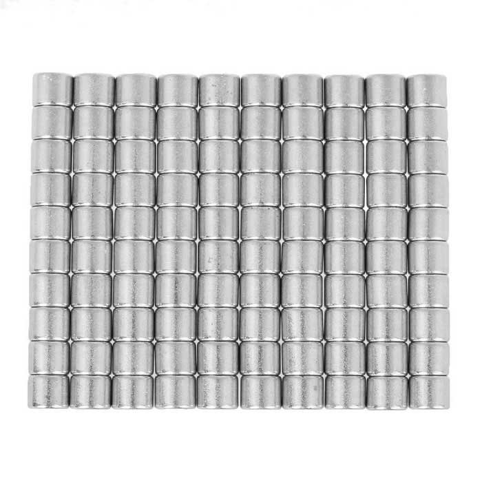 6*5mm Small Size Round Strong NdFeB Magnets - Silver (100PCS)Magnets Gadgets<br>Form  ColorSilverModelN/AMaterialNdFeBQuantity1 DX.PCM.Model.AttributeModel.UnitNumber100Suitable Age 12-15 years,Grown upsPacking List100 x NdFeB magnets<br>