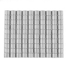 6 x 5mm Small Size Round Strong NdFeB Magnets - Silver (100 PCS)