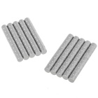 6*5mm Small Size Round Strong NdFeB Magnets - Silver (100PCS)