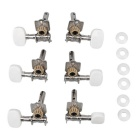 Classical Guitar String Tuning Peg Tuner Machine Heads - Brown (6PCS)