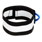 SAHOO Bicycle Cycling Beam Belt - Black + Blue (Pair)