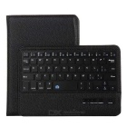 Detachable Wireless Bluetooth 59-Key Keyboard & Protective Case for IPAD MINI 2 / 3 / 4 - Black