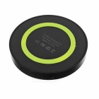 Qi Wireless Transmitter Charger for Samsung / Google - Black + Green