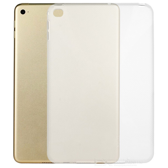 """X"" Pattern Protective Back Case for IPAD MINI 4 - Translucent White"