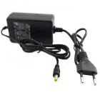 AC 12V Power Supply Adapter Converter Transformer - Black (EU Plug)