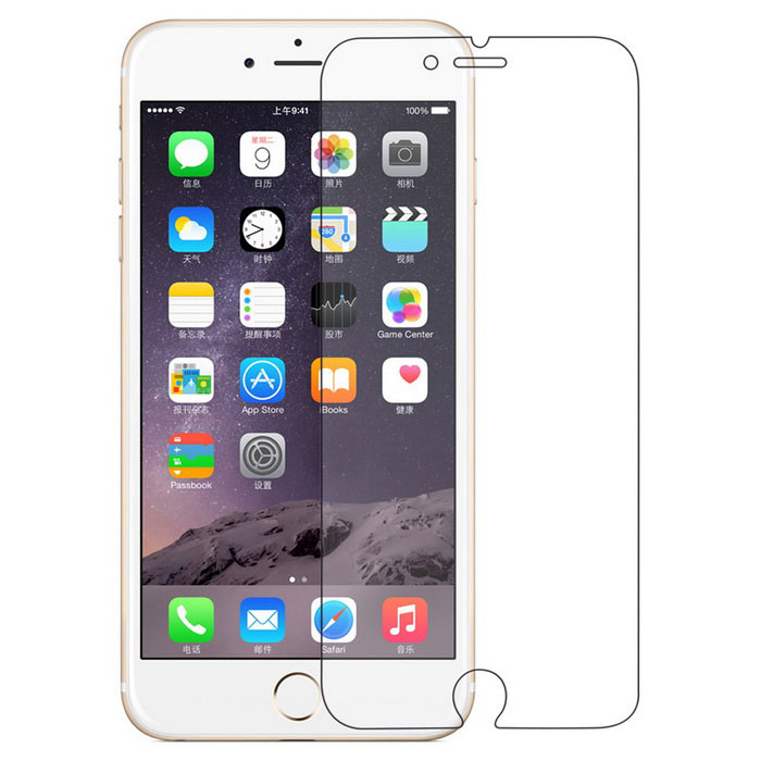 Angibabe 7H Optical Screen Protector for IPHONE 6 - TransparentScreen Protectors<br>Screen TypeClearQuantity1 DX.PCM.Model.AttributeModel.UnitMaterialTPUForm  ColorTransparentCompatible ModelsIPHONE 6StyleScreen protectorScreen FeaturesScratch Proof,Fingerprint Proof,Explosion ProofPacking List1 x Screen protector1 x Cleaning cloth<br>