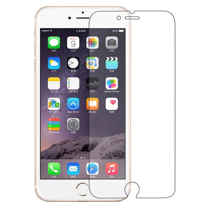 angibabe 7H optische soft screen film voor IPHONE 6 PLUS - transparant