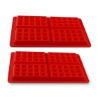 Prointxp Classical Silicone Waffle Mold - Red
