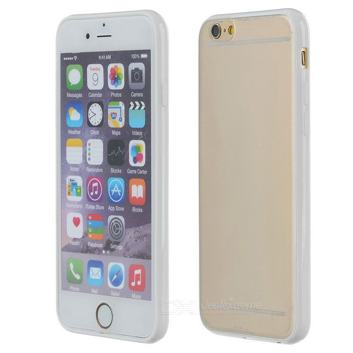 S-What Matte Case for IPHONE 6 / 6S - White + Transparent