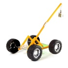 DIY Handmade Big Wheel Gravity Puzzle Assembled Model Toy Car