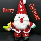 SC30CM New Style Plush Santa Claus Christmas Toy High Quality - Red