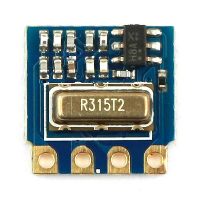 315MHz RF Transmitter Wireless Module for Arduino - Blue + Golden