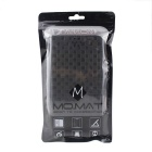 Grid Pattern Case w/ Stand, Card Slot for Samsung Note5 - Black